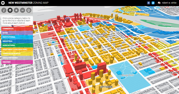 New Westminster Zoning Map Rbrtwhite - Westminster map
