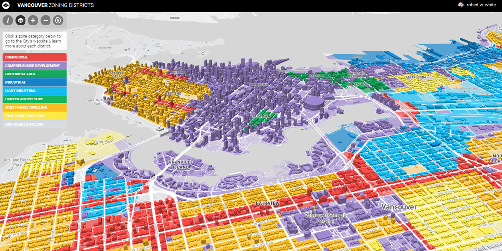 Vancouver Zoning Map | rbrtwhite on